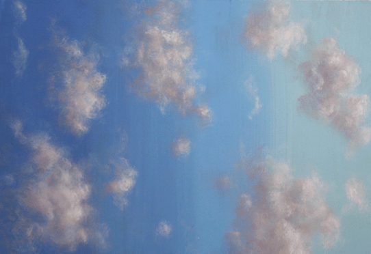 Sky And Clouds Painting Sketch Design