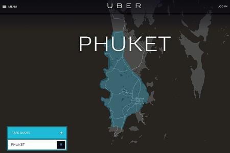 Uber Phuket