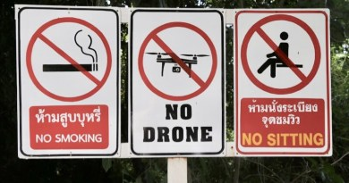 All drones must be registered by 9 January 2018 or you face up to 5 years in a Thai prison