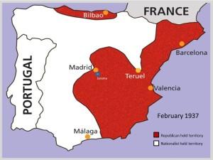 Spain in 1937