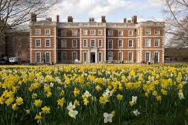 The magnificent grade II listed Trent Park House
