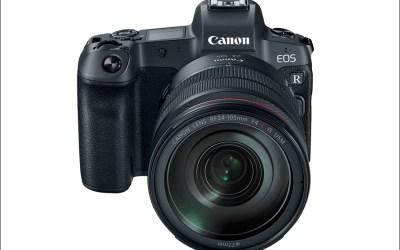 Canon EOS R Full Frame Mirrorless Camera Announced