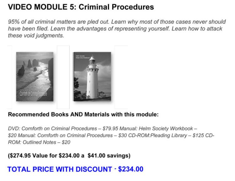 VIDEO-MODULE-5-CRIMINAL-PROCEDURE