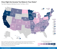 How High are Income Tax Rates in Your State?