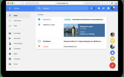 De features: het maakt e-mail afhandelen gewoon simpeler