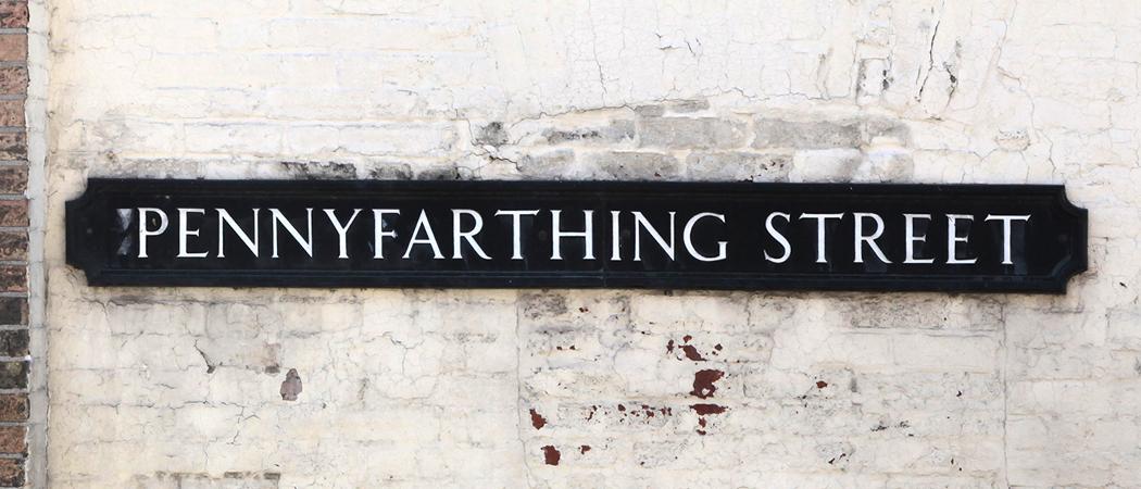 Pennyfarthing Street