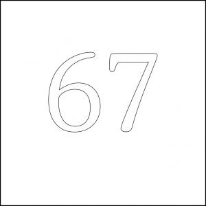 67 square 100