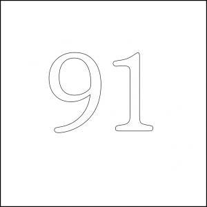 91 square 100