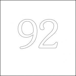 92 square 100