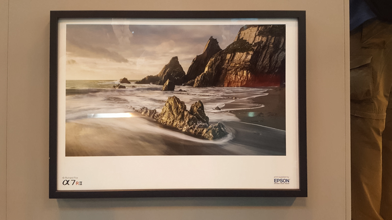 My image of Westcombe Beach called 'Lowlights' Framed