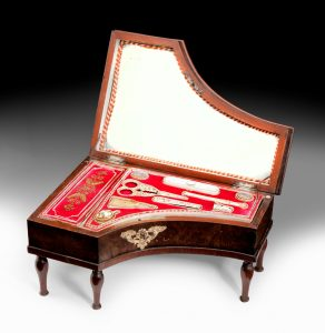ANTIQUE SEWING BOXES AT RICHARD GARDNER ANTIQUES