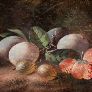 ATTRIBUTED TO GLEESON WHITE-OIL PAINTINGS-STILL LIFE