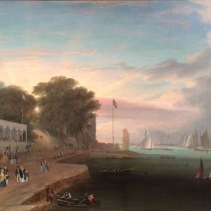 ARTHUR WELLINGTON FOWLES OIL PAINTING MARINE COWES