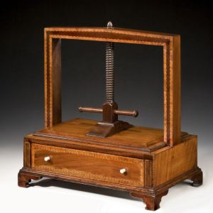 ANTIQUE GEORGE III BOOK PRESS