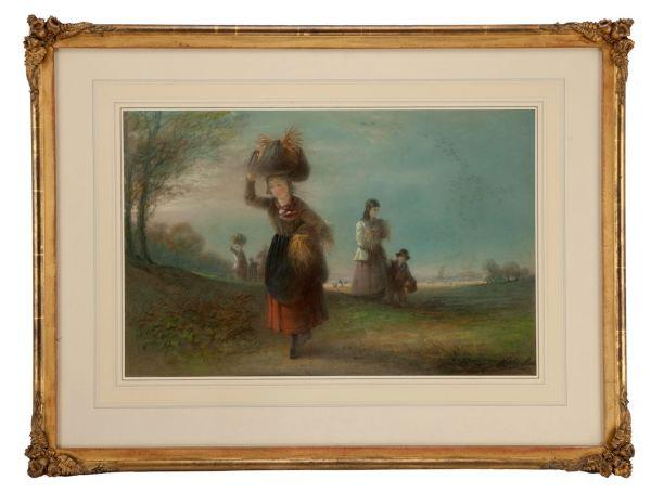 Emily-Rose-Smythe-pastel-the-gleaners-antique-1203_1_1203