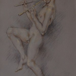 FRANCO MATANIA PASTEL YOUNG PAN BOY NUDE