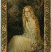 Giulio-Pastine-watercolour-young-lady-pre-raphaelite-antique-5419_1_5419