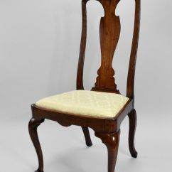 Antique Queen Anne Chair Cover Hire Hawkes Bay Walnut Side Richard Gardner