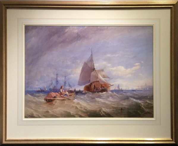 Thomas-Sewell-Robins-watercolour-marine-shipping-Margate-antique-5577_1_5577