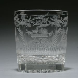 ANTIQUE GEORGE III ACT OF UNION TUMBLER