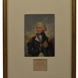 BAXTER PRINT OF LORD NELSON