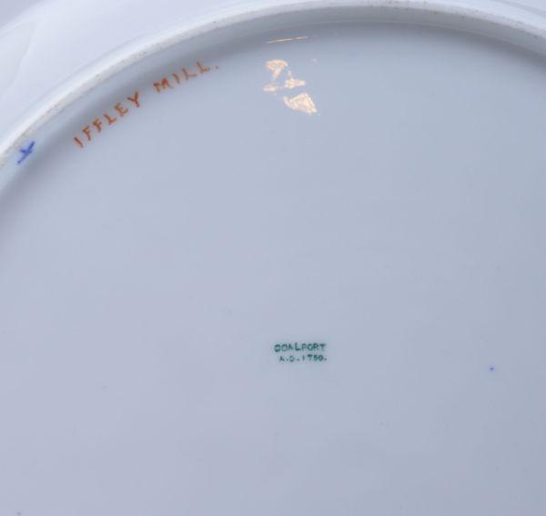 antique-Coalport-porcelain-plate-painted-Iffley-Mill-DSC_2576_6130