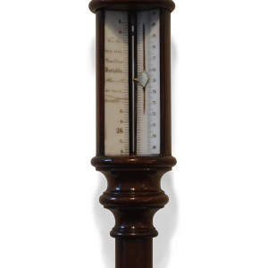 RARE 19TH CENTURY PILLAR BAROMETER