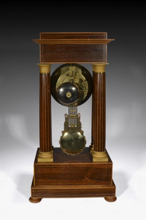 antique-portico-clock-table-regulator-French-Empire-rosewood-Pigneret-DSC_5276_MM_6355