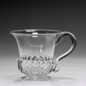 ANTIQUE GLASS CUSTARD CUP