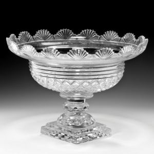 ANTIQUE GLASS SWEETMEAT BOWL