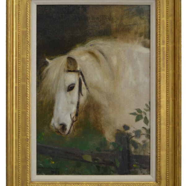 horse-painting-pony-oil-arthur-john-elsley-antique-DSC_7587.jpga