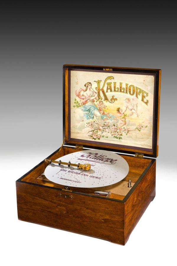 ANTIQUE KALLIOPE DISC MUSICAL BOX