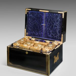SUPERB LADIES DRESSING CASE BY F WEST