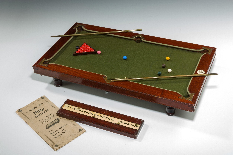 Terrific Antique Miniature Nuku Billiards Table Download Free Architecture Designs Scobabritishbridgeorg