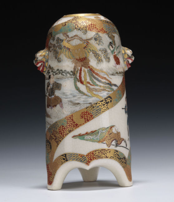 Satsuma-bud-vase-battle-scene-Sino-Japanese-war-antique-meiji-3345_1_3345