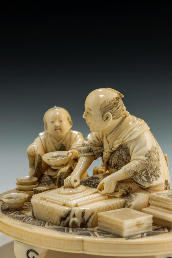 ivory-okimono-Japanese-woodblock-printer-Shizuyuki-antique-meiji-4935_1_4935