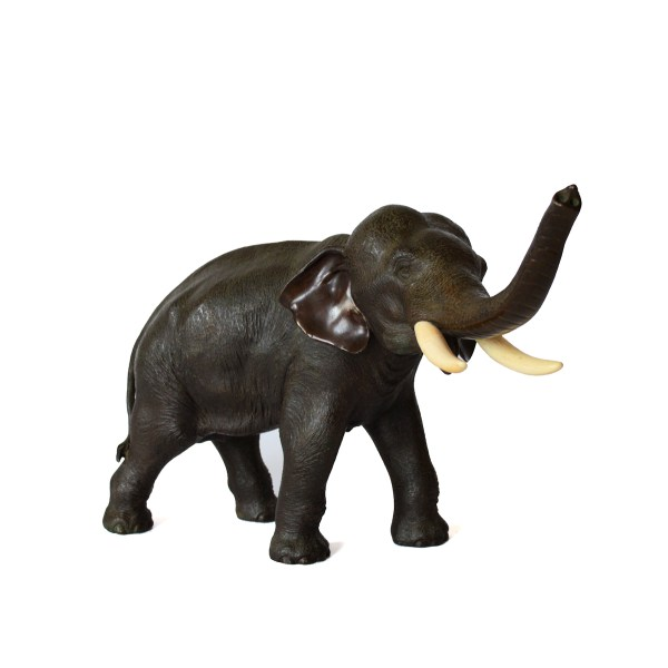 japanese-bronze-standing-elephant-antique-
