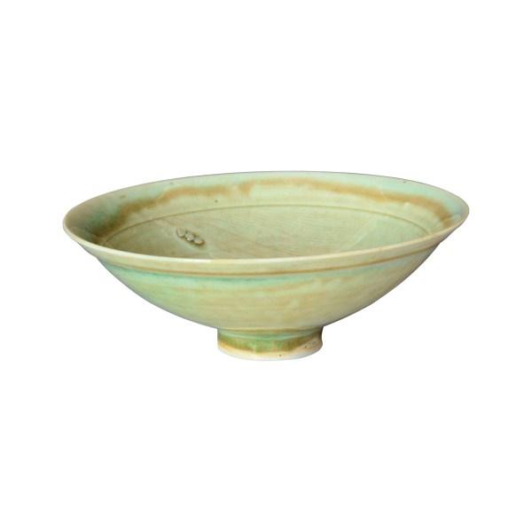 japanese-studio-pottery-bowl-celadon-landscape-