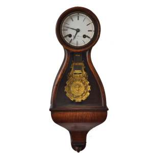 FRENCH CARTEL CLOCK BY HENRI MARC
