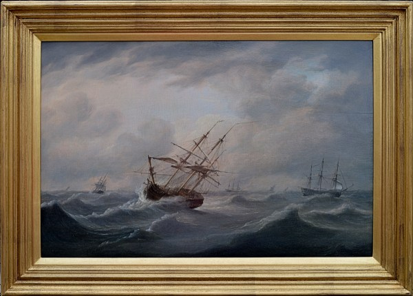 thomas-luny-attributed-royal-navy-ships-for-sale-marine-oil-painting-DSC_9676