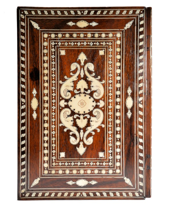 antique-indian-rosewood-ivory-inlaid-book-holder-DSC_9897