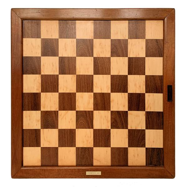 ANTIQUE CLUB SIZE JAQUES CHESS BOARD