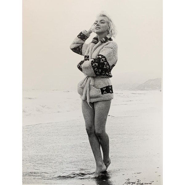 SIGNED LIMITED EDITION PHOTOGRAPHS OF MARILYN MONROE BY GEORGE BARRIS