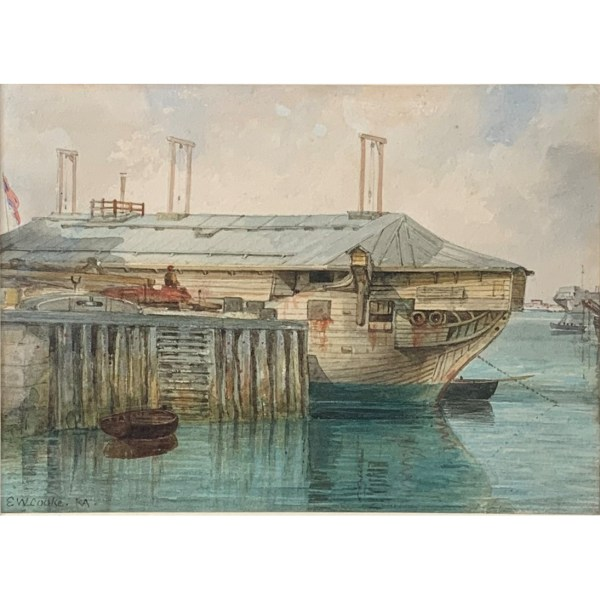 FIND E W COOKE WATERCOLOUR PAINTINGS FOR SALE IN UK