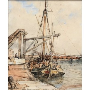 FIND WATERCOLOUR PAINTINGS BY E W COOKE FOR SALE IN UK