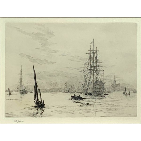 FIND WILLIAM WYLLIE ETCHINGS FOR SALE IN UK