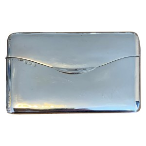 FIND ANTIQUE SILVER CARD CASE FOR SALE IN UK
