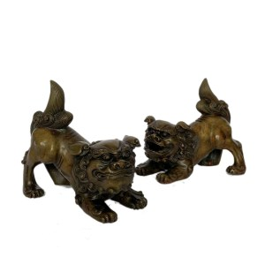 FIND ANTIQUE BRONZE FOO DOGS FOR SALE IN UK