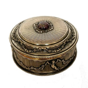 FIND ANTIQUE SILVER GILT PILL BOX FOR SALE IN UK