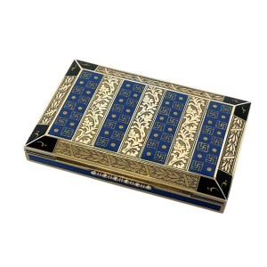 FIND ENAMEL AND SILVER GILT CARD CASE FOR SALE IN UK